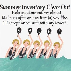 Inventory Clear Out - Make an Offer!